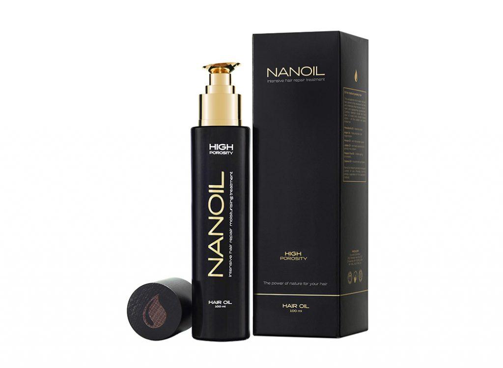 La meilleure huile pour cheveux Nanoil